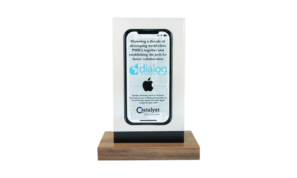 Phone-Themed Partnership Commemorative