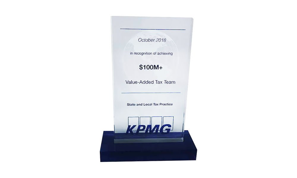 Crystal Team Recognition Award