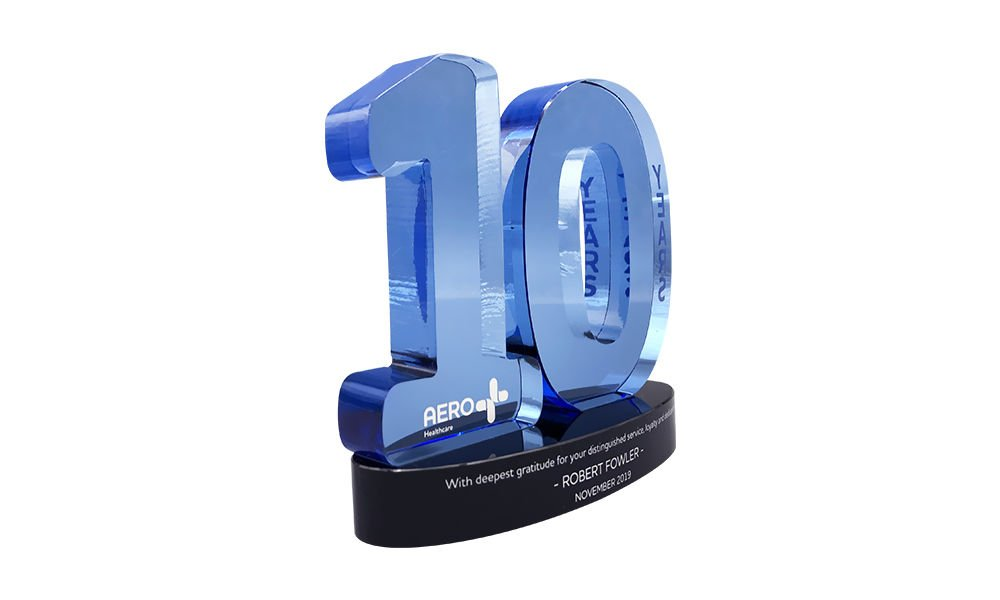 10 Years-of-Service Award