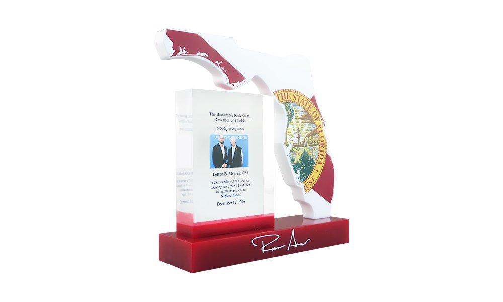 Florida-Themed Recognition Award