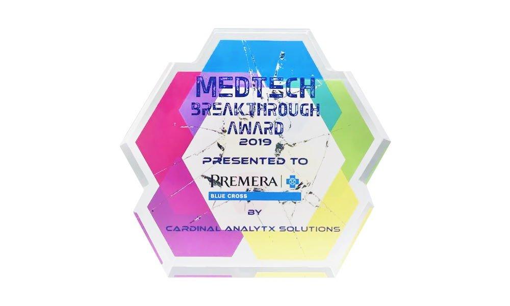 """""""Breakthrough""""-Themed Custom Award"""
