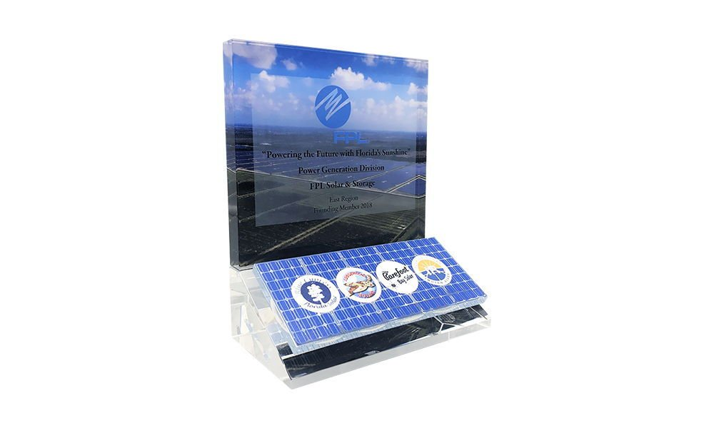 Custom Commemorative for Solar Facility Opening