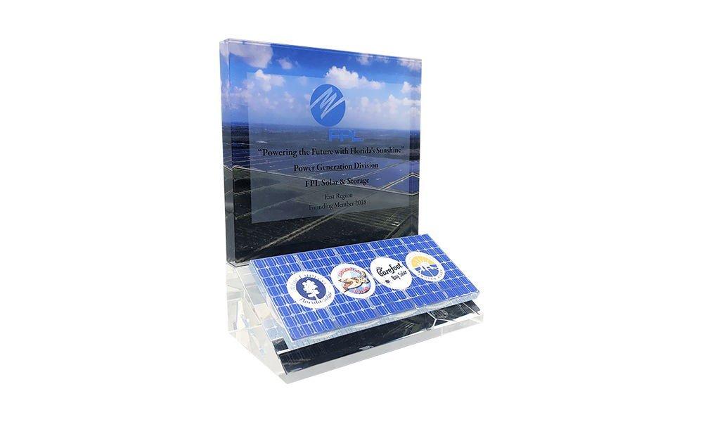 Custom Commemorative for Solar Facility Opening