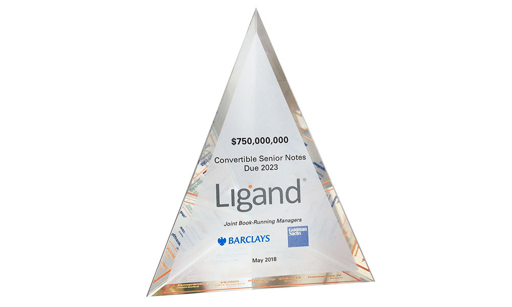 Custom Acrylic Pyramid
