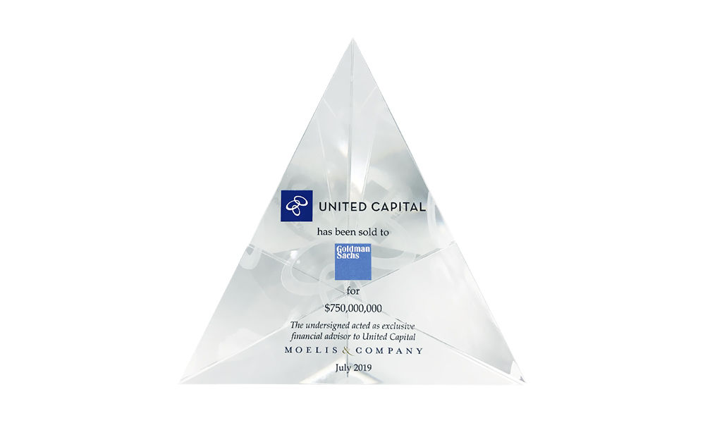 Custom Lucite Pyramid Design