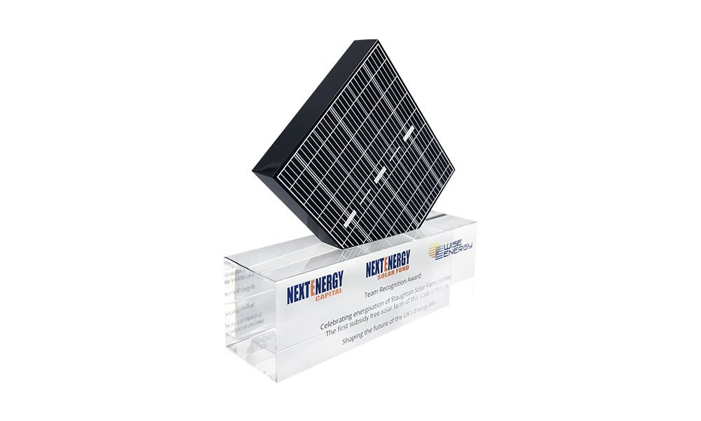 Solar Industry Custom Award