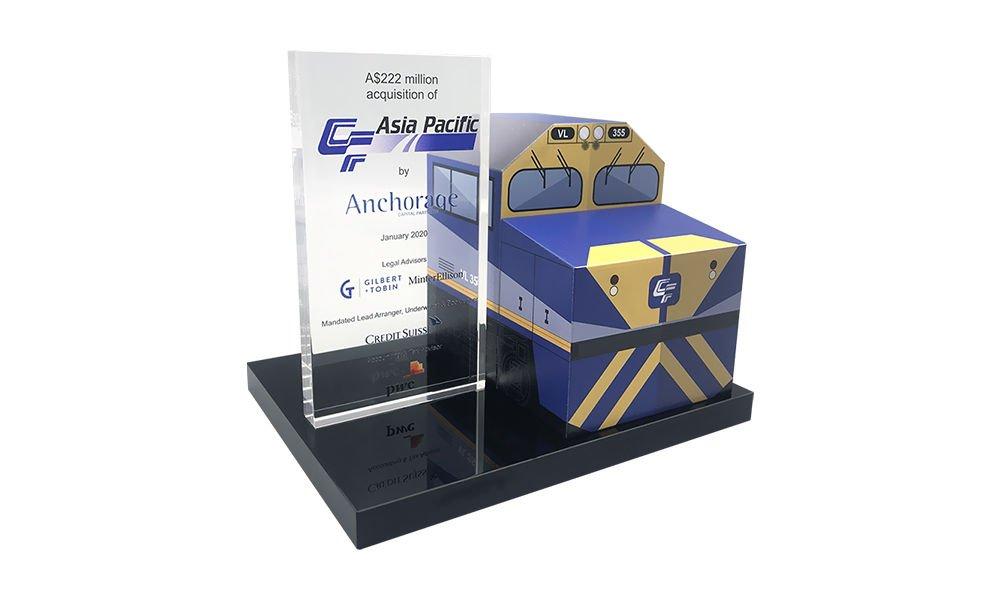 Australian Railroad-Themed Deal Toy