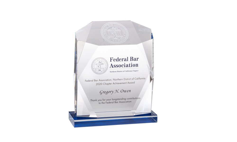 Bar Association Achievement Award