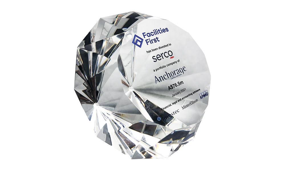 Diamond-Themed Crystal Deal Toy