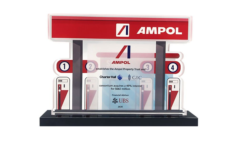Gas Pump-Themed Deal Toy