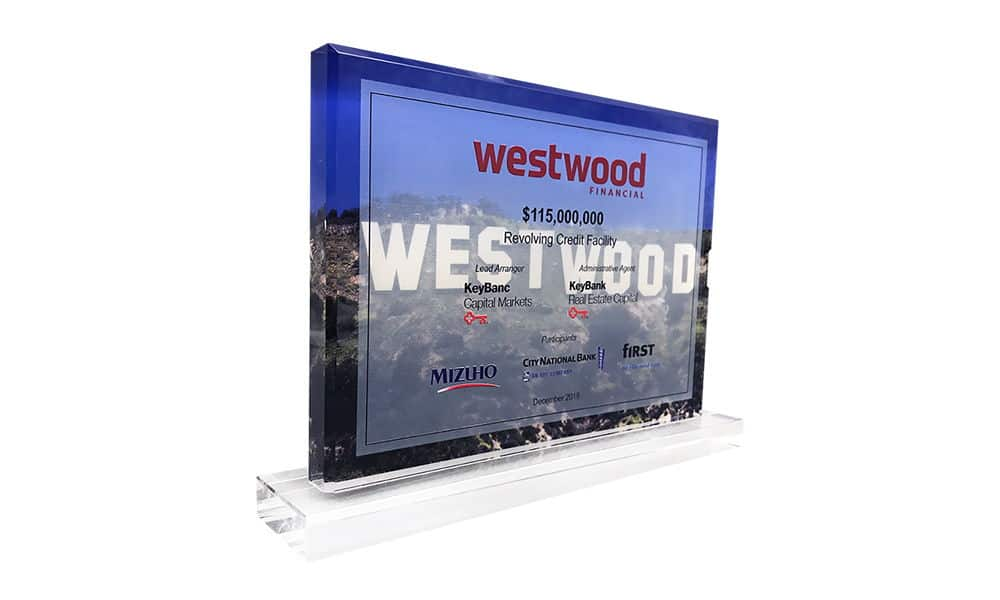 Hollywood Sign-Themed Deal Tombstone