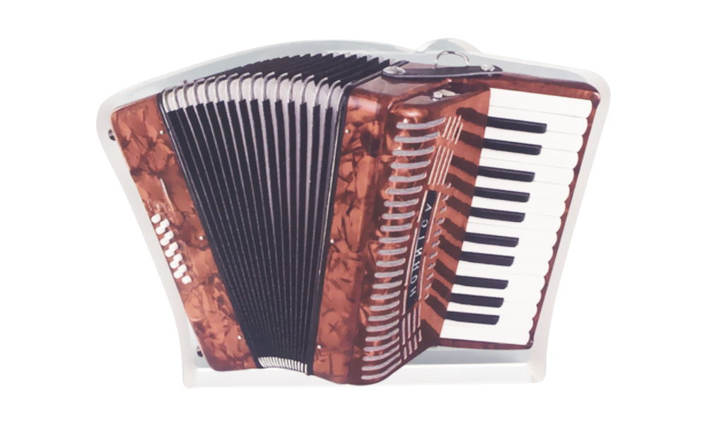 """""""Accordion"""" Tranche-Themed Deal Toy"""
