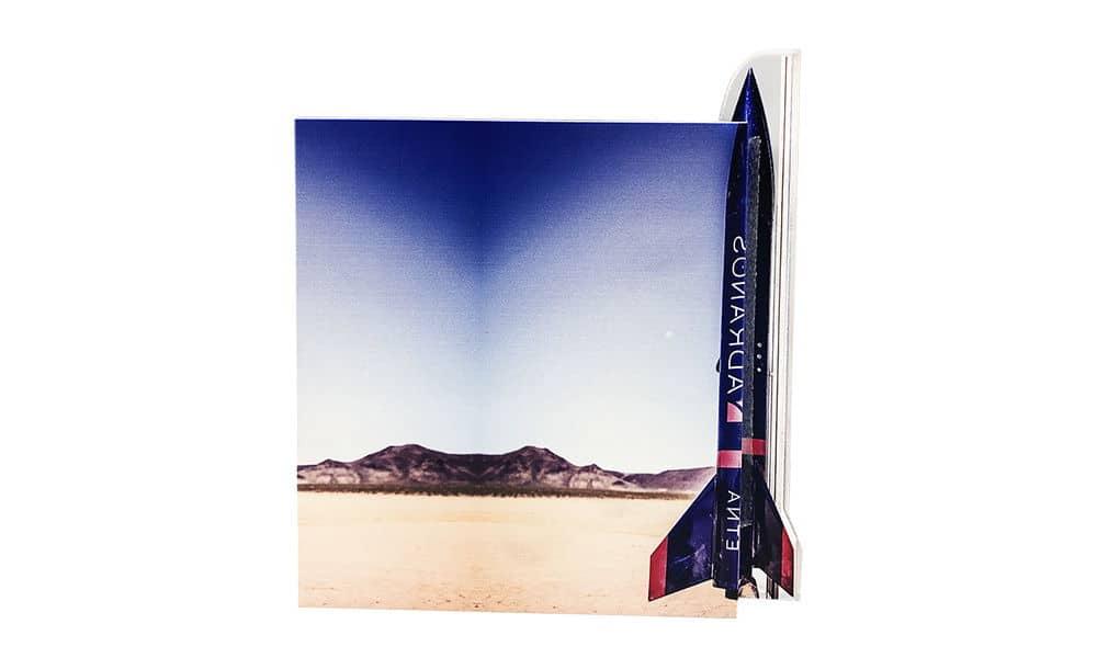 Rocket-Themed Grand Prize Award (Back View)