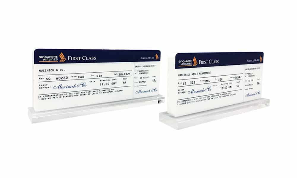 Airline Boarding Pass-Inspired Deal Toy